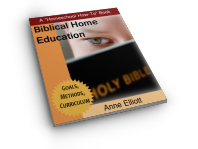 Cover - Biblical Home Education