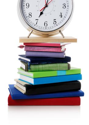 image - pile of school books