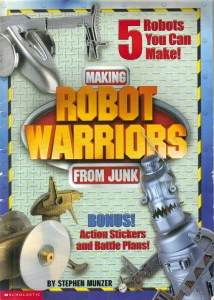 making robot warriors from junk