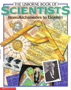 usborn book of scientists from archimedes to einstein