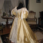image of puffed sleeves like Anne of Green Gables might have worn.