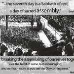 assembly on the sabbath