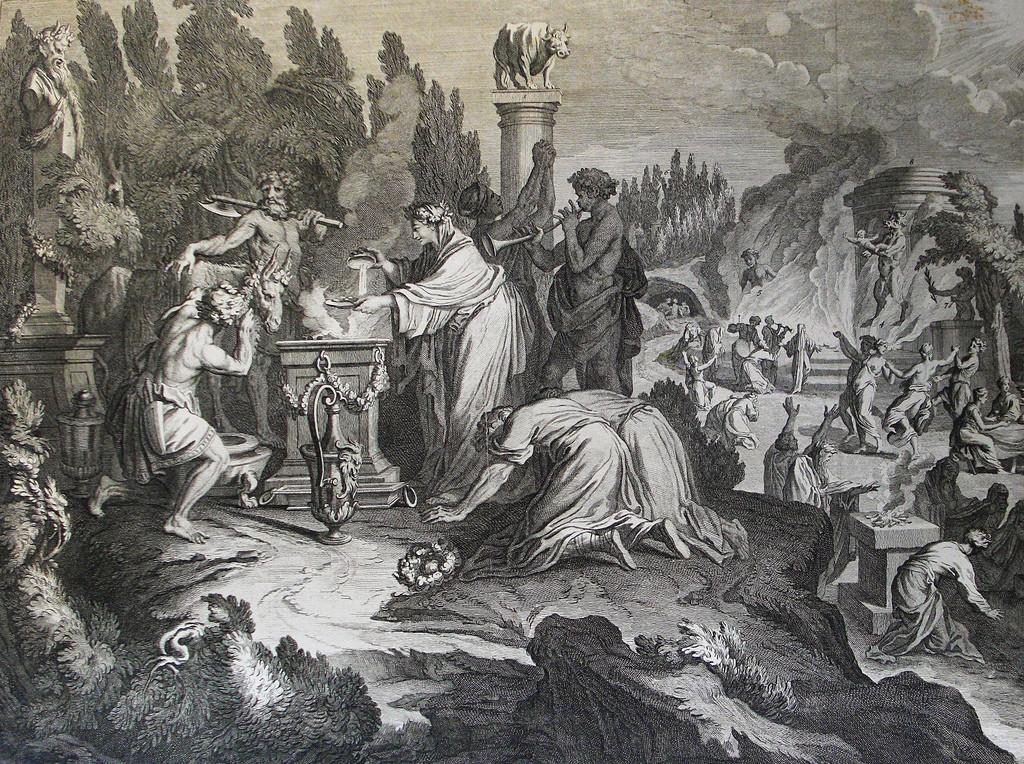 Idolatry with Baal-peor