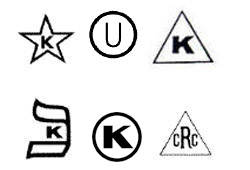 Common U.S. Kosher Symbols