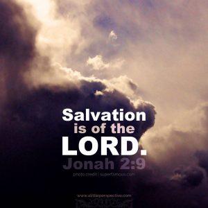 Jonah 2:9 | Scripture Pictures | www.alittleperspective.com