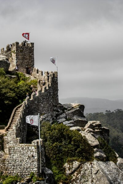 castle walls of protection